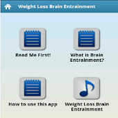 Weight Loss Brain Entrainment