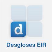 Desgloses EIR
