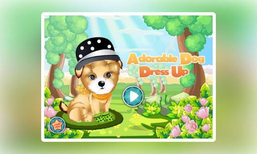 Adorable Dog Dress Up