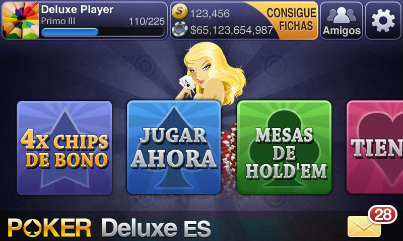 Texas Holdem Póquer Deluxe - screenshot