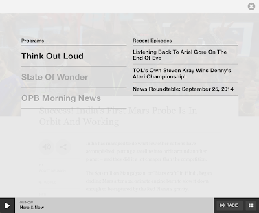 OPB News- screenshot thumbnail