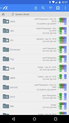 File Explorer (Root Add-On) Screenshot
