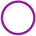 Polka Dot Purple White Theme icon