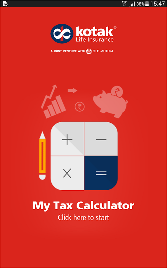 My Tax Calculator- screenshot