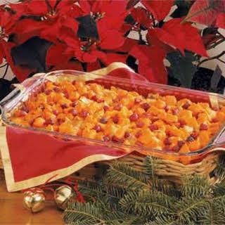 Cranberry Sweet Potato Bake Recipe.