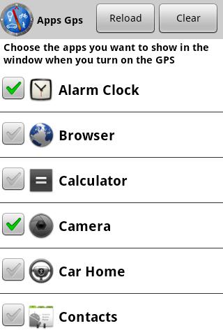 GPS Launcher - screenshot