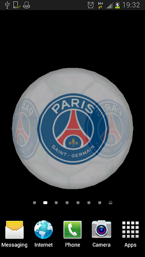 Ball 3D Paris Saint-Germain