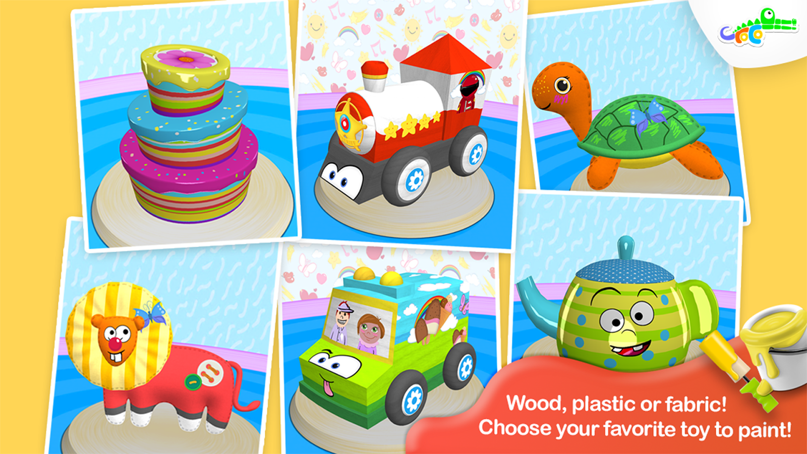 ToyBrush 3D- screenshot