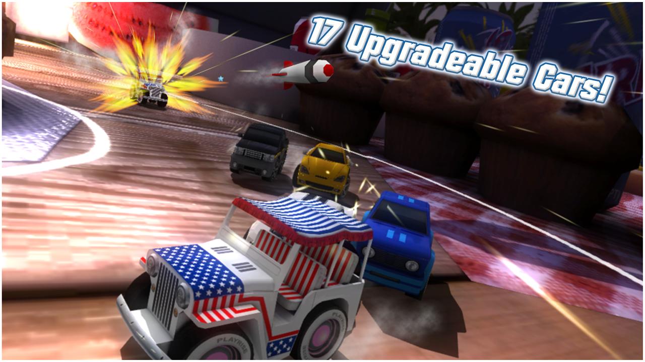 Table Top Racing Free screenshot #2