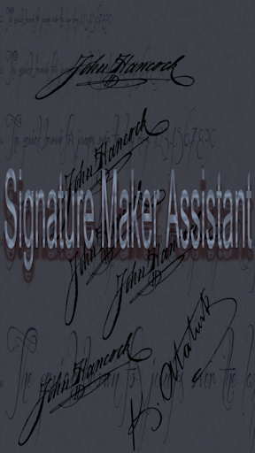 Signature Maker Assistant