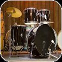 Real Drum Set. icon