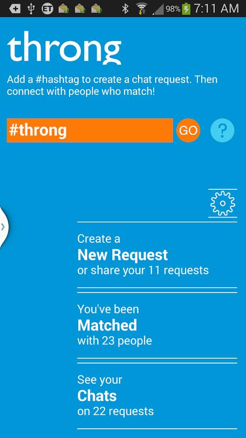 Throng - screenshot