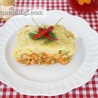 Diet Shepherds Pie With Chicken Breast.