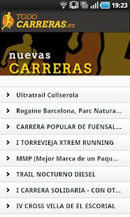 Todo Carreras Populares - screenshot thumbnail
