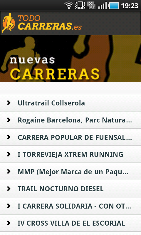 Todo Carreras Populares- screenshot