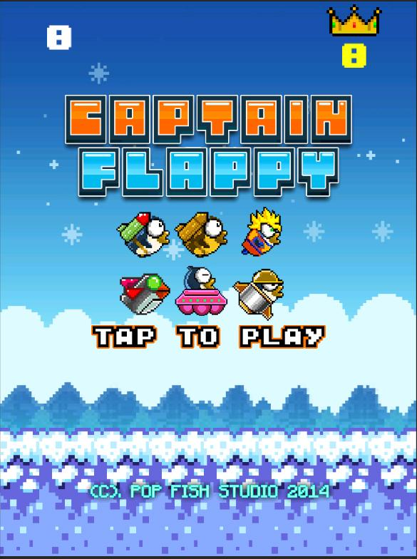 Captain Flappy- screenshot