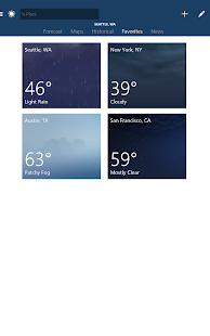 MSN Weather – Forecast & Maps 8