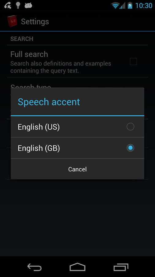 Offline English Dictionary- screenshot