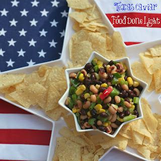 Texas Caviar – Black Bean and Black Eyed Pea Dip.