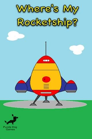 Where's My Rocketship? (Free) - screenshot