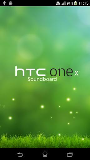 HTC One X Soundboard