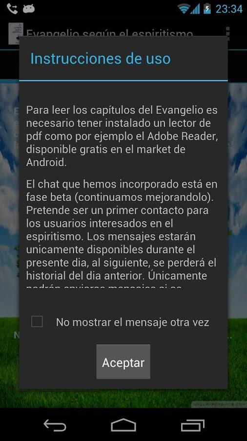 Evangelho Segundo o Espiritism - screenshot
