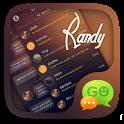 (FREE) GO SMS PRO RANDY THEME icon
