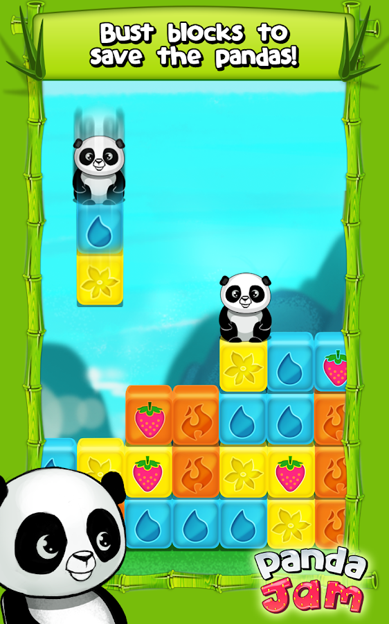 Panda Jam- screenshot