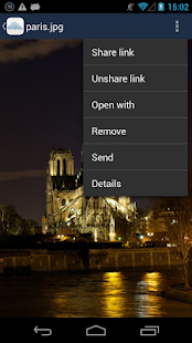 ownCloud - screenshot thumbnail