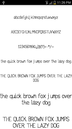 Fonts for FlipFont #15 3.19.1 screenshot 2090731