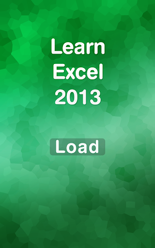 Learn Excel 2013