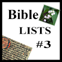 Bible Lists # 3 icon