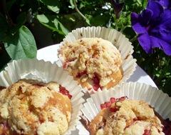 muffins fraise 1