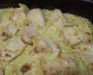 poulet curry sac