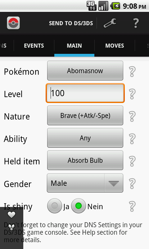 PokéCreator Lite - screenshot