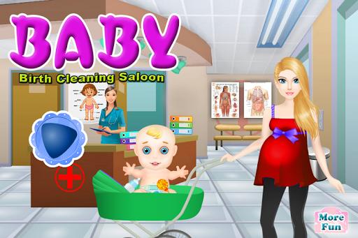 嬰兒出生清洗遊戲