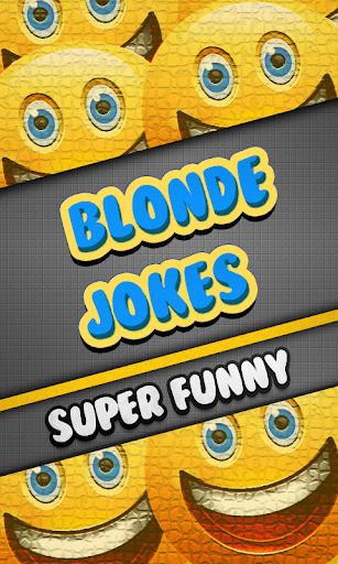 Blonde Jokes Super Funny