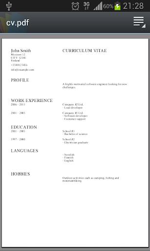 Curriculum Vitae Apps On Google Play