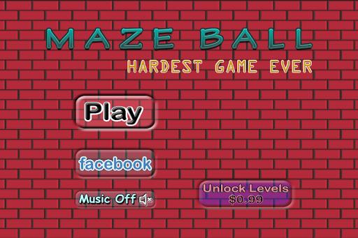 Maze Ball - Hardest Game Ever