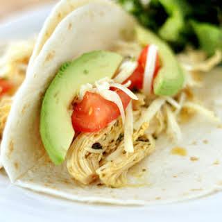 Chipotle Chicken Tacos.