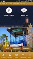 Screenshot of Caddo Parish Sheriff's Office