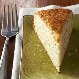 Lemon Poppy Seed Snack Cake