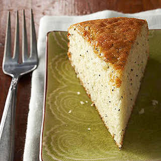 Lemon Poppy Seed Snack Cake.