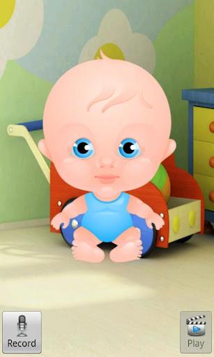 Talking Baby Boy 5.5 screenshots 1