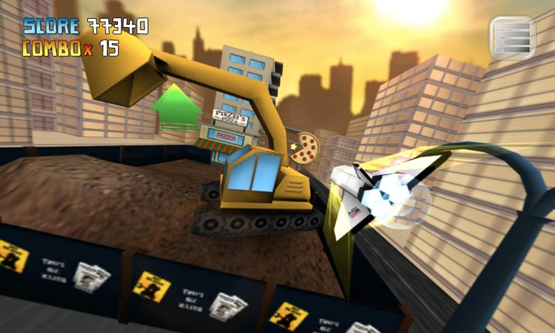 My Paper Plane 3 (3D) Lite - screenshot