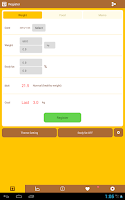 Screenshot of Easy Weight Manager
