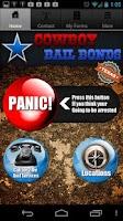 Screenshot of Cowboy Bail Bonds