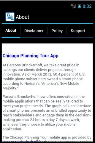 Chicago Planning Tour- screenshot