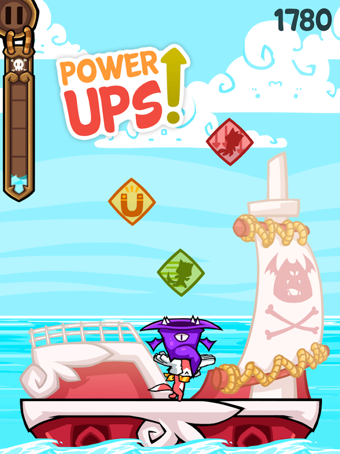 Tappy's Pirate Quest - Free- screenshot