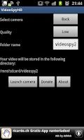 Screenshot of VideoSpyHD for gs2 BETA